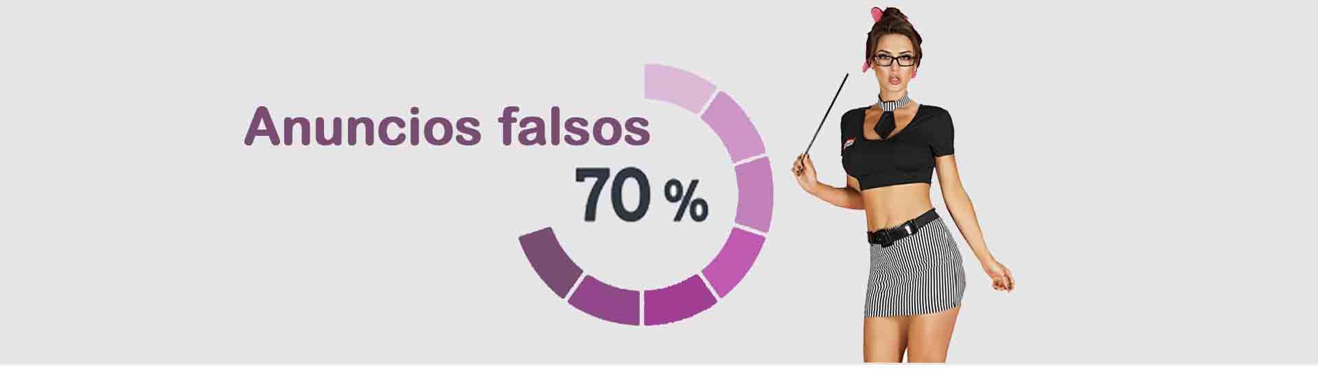 anuncios falsos en Valencia