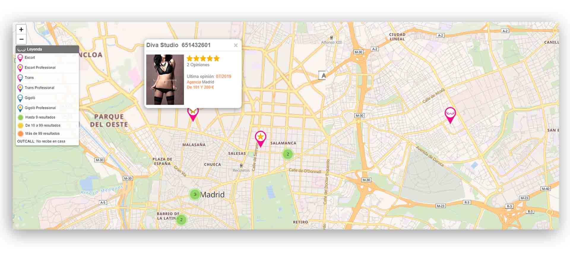 mapa interactiva